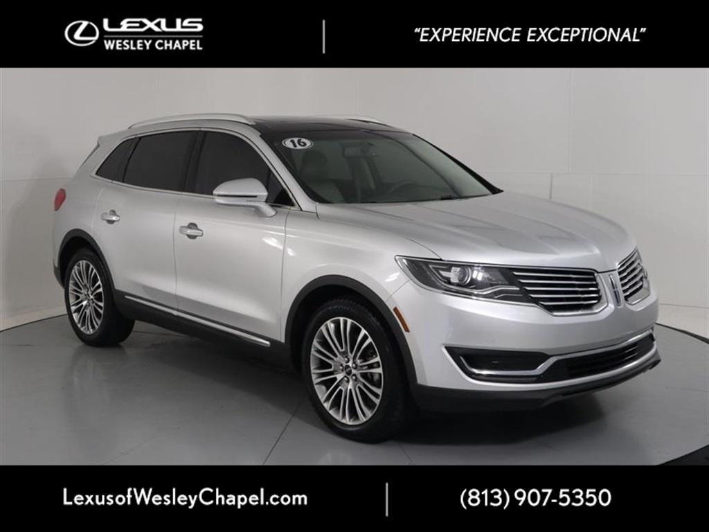 2016 Lincoln Mkt >> Pre Owned 2016 Lincoln Mkx Reserve Fwd 4d Sport Utility